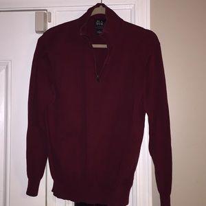 Jos A Bank Traveler 100% pima Cotton Large Sweater